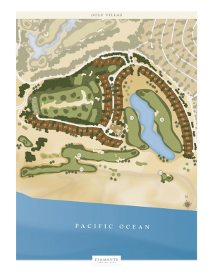 Golf villas- Site plan