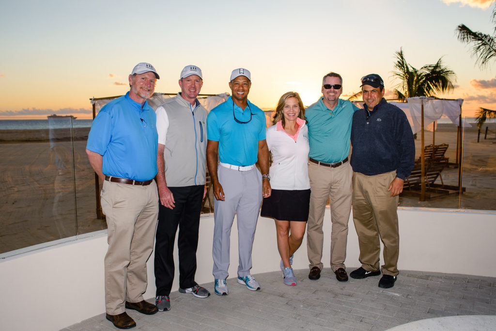 Tiger Woods Ocean Club Residences Grand Opening