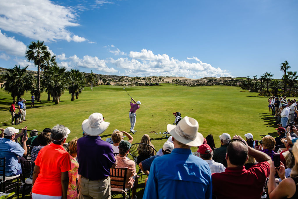 Tiger Woods Diamante Cabo Golf Clinic